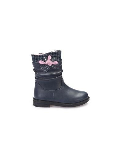 Pink Step Bot Lacivert